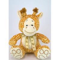 Girafa De Pelúcia 25Cm Sentado
