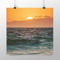 Placa Decorativa - Sunset