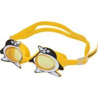 Óculos De Natação Hammerhead Fluffy Pinguim - Infantil - Amarelo 52790373d8