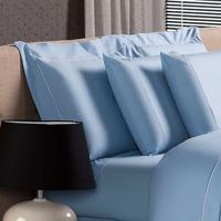 Fronha Blue Algodão Branca 50X70