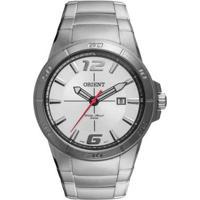 Relógio Orient Analógico Masculino - Masculino-Prata