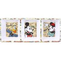 Petisqueira Retangular Turma Do Mickey - Zona Criativa