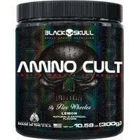 Amino Cult 300G - Black Skull - Unissex