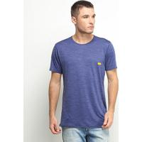 Camiseta Hd Especial Basic Masculina - Masculino-Marinho