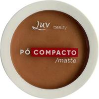 Pó Compacto Matte - Luv Beauty Toffee - Unissex-Incolor