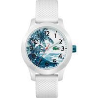 Relógio Lacoste Infantil Borracha Branca - 2030017
