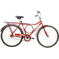 Bicicleta Mega Barra Aro 26 Freio Contra Pedal Quadro Aço - Mega Bike - Unissex