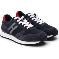 Hogan Kids R261 Low-Top Sneakers - Azul