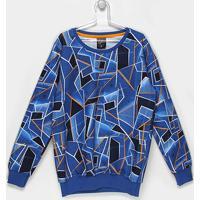 f66d0aa5d6c6e ... Blusa Infantil Tigor T. Tigre Estampada Masculina - Masculino-Azul