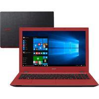 "Notebook Acer E5-573-36M9 - Intel Core I3- 5015U - Ram 4Gb - Hd 500Gb - Led 15.6"" - Windows 10"