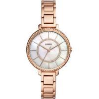 96e51745177337 Relógio Fossil Jocelyn Rosé Feminino - Feminino-Rose Gold