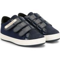 Babywalker Tênis Com Tiras Frontais - Azul