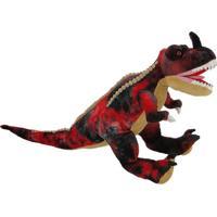 Dinossauro De Pelúcia - Tiranossauro Vermelho