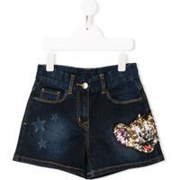 Monnalisa Short Jeans Jerry - Azul