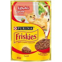 Ração Para Gatos Friskies Filhotes Sachê Sabor Carne Ao Molho Com 85G