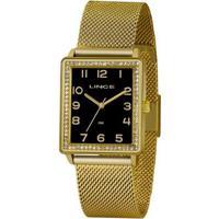 Relógio Lince Urban Lqg4665Lp2Kx Feminino - Feminino-Dourado