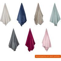 Cobertor Queen Flannel I Colorido 240X220 Cm