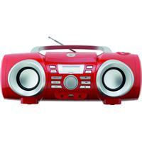 Boombox Áudio Mp3/Usb Vm/Prata 10W Rms Philco Bivolt Pb130V