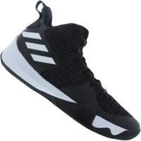 Di Santinni  Tênis Adidas Explosive Flash - Masculino - Preto Branco ebab05ef52998