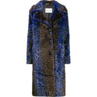 Stand Studio Faux Fur Coat - Azul