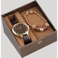 3f7b36cf2c4 CEA  Kit De Relógio Analógico Mondaine Feminino + Pulseira - 53614Lpmvdf1K  Dourado - Único