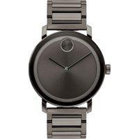 Relógio Movado Masculino Aço Cinza - 3600509