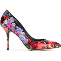 Dolce & Gabbana Scarpin Floral - Estampado