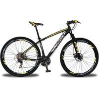 Bicicleta Aro 29 Rino Everest Freio A Disco - Cambios Shimano 24V - Unissex