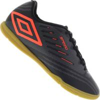 Chuteira Futsal Umbro Speed Iv Ic - Adulto - Preto/Cinza
