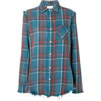 R13 Camisa Xadrez - Azul