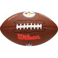 3d2c22a2259fa Netshoes  Bola Futebol Americano Wilson Nfl Pittsburgh Steelers - Unissex