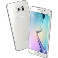 """Smartphone Samsung Galaxy S6 Edge Branco - 64Gb - 4G Lte - Octa Core - Câmera 16Mp - Super Amoled 5.1"""" - Android 5.0"""