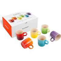 Canecas Espresso Gift Collection 100 Ml 6 Peças Colorido Le Creuset