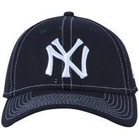 Boné Aba Curva New Era 940 New York Yankees Hit - Snapback - Adulto - Azul 69aadad06e5