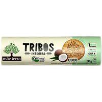 Biscoito Integral Orgânico Tribos Sabor Coco Mãe Terra 130G