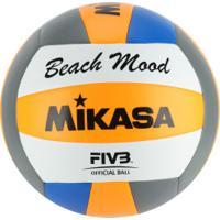 7e332de284 Bola De Vôlei De Praia Mikasa Vxs Bmd - Laranja Azul