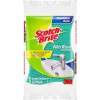 Esponja Para Limpeza De Banheiro Verde Scotch-Brite
