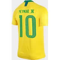 f7c2d66181 Netshoes  Camisa Seleção Brasil I 2018 Nº 10 Neymar Jr - Torcedor Nike  Masculina - Masculino