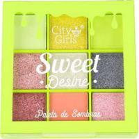 Paleta De Sombras Sweet Desire City Girls A A