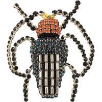 Rochas Broche Beetle - Preto