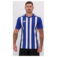 Camisa Adidas Striped 21 Azul E Branca