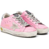 Golden Goose Kids Tênis Cano Baixo Superstar - Rosa