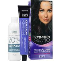 Keraton Selfie 3.0 Castanho Escuro 125G - Unissex-Incolor