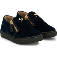 Giuseppe Zanotti Kid London Sneakers - Azul