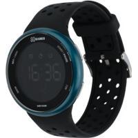 Relógio Digital X Games Xmppd543 - Masculino - Preto/Azul