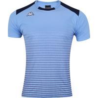Camiseta Kappa Vivaldi - Masculina - Azul Claro
