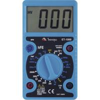 Multímetro Digital Com Display De 3.1/2'' Dígitos Et-1000 Azul