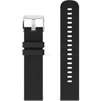 Pulseira De Silicone Tudo Smartwatch Para Xiaomi Amazfit Bip Lite Preto