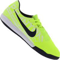 Chuteira Futsal Nike Phantom Venom Academy Ic - Adulto - Verde Cla/Azul Esc