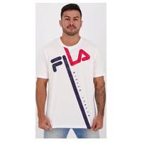 Camiseta Fila Pixel Tiger Branca